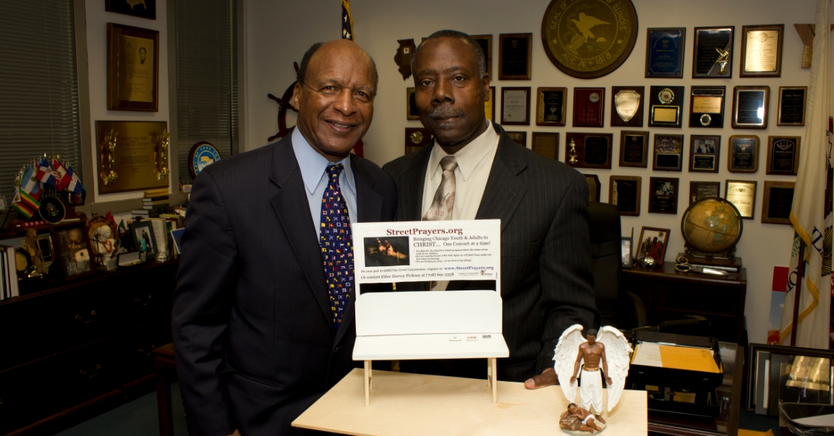 Clip hear to read the report on the Founder's meeting with Illinois Secretary of State Jesse White